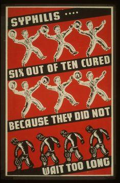 Artistic Vintage STD Poster