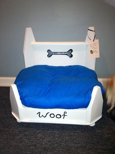 DIY dog bed from sweet treasures resale in Illinois