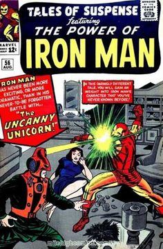 Tales Of Suspense #56 Cover Art by Jack Kirby
