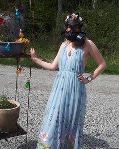 Gas Masks, Safety, Outfits, Dresses, Women, Fashion, Security Guard, Vestidos, Moda