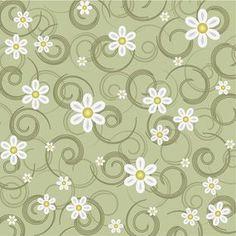 Papel de Parede Floral 1197
