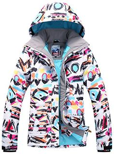 bc0d8c6e7e APTRO Women s Windproof Waterproof Bright Color Ski amp Snowboarding Jacket  Magic Printing Size S  gt