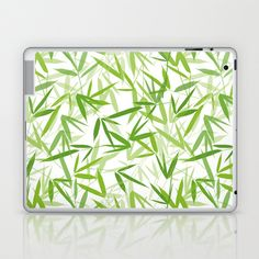 Bamboo Leaves Laptop & iPad Skin by patterndesign - $25.00 Bamboo Leaves, Laptop Skin, Decorating Your Home, Gadgets, Ipad, Presents, Patterns, Stylish, Products