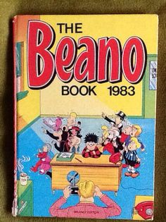 Recycled Beano Book Annual 1983 Old Comics, Childhood Days, Horror Comics, Retro Toys, Classic Books, Pulp Fiction, Best Memories, American Horror, Vintage Books