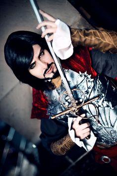 Magoro as Cesare Borgia from Assassins Creed Brotherhood