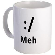 The perfect coffee mug for when you are having one of THOSE days