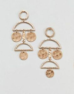 Order Pieces Disc Earrings online today at ASOS for fast delivery, multiple payment options and hassle-free returns (Ts&Cs apply). Get the latest trends with ASOS. Cute Earrings, Gold Earrings, Gold Necklace, Drop Earrings, Asos, Body Jewellery, Jewellery Shops, Golden Jewelry, Schmuck Design