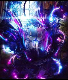 Rem and Ram by Juan-Start on DeviantArt - Re Zero Fnaf Anime, Anime Chibi, Manga Anime, Wallpapers Geek, Animes Wallpapers, Beautiful Anime Girl, I Love Anime, Anime Art Girl, Manga Art