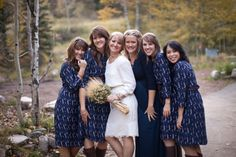 blue Fall wedding