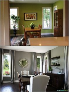 Interior Design Amazing Dining Room Make Over Before And After