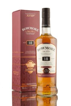 An 18 year old single malt Scotch whisky from Bowmore distillery, released as part of The Vinter's Trilogy series. Double matured, first for 13 years in ex-bourbon barrels then for a further 5 years in Manzanilla sherry casks.