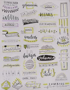 Bullet Journal School, Bullet Journal Writing, Bullet Journal Headers, Bullet Journal Banner, Bullet Journal Aesthetic, Bullet Journal Ideas Pages, Tittle Ideas, Hand Lettering Art, Journal Fonts