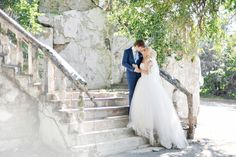 свадебная прогулка, свадебное платье, платье со шлейфом