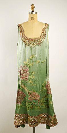 Dress, 1925, French.