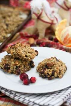 Healthy Oatmeal Cookies in Orange Cranberry - Yum!  Can't wait to try!