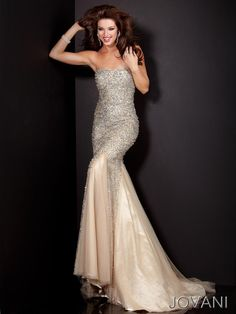 Floor length mermaid gown features sheer net underlay $640 Jovani Prom 4426 Jovani Prom Foxy Lady, Myrtle Beach SC, Prom, Pageant, Mother of the Bride & More www.shopfoxylady.com