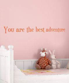 Clementine 'Best Adventure' Wall Decal