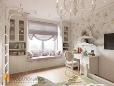 Interior design of children's room photos - Home And Decor Bedroom Decor For Women, Girl Bedroom Designs, Girls Bedroom, Bedrooms, Bedroom Loft, Room Interior Design, Kids Room Design, Bedroom Built Ins, Dream Rooms