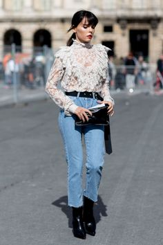 Paris Fashion Week SS17 Street Style: Day 5