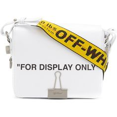 Off-White For Display Only tote (€1.005) ❤ liked on Polyvore featuring bags, handbags, tote bags, white, print tote bags, champagne handbag, white tote purse, champagne purse and print handbags