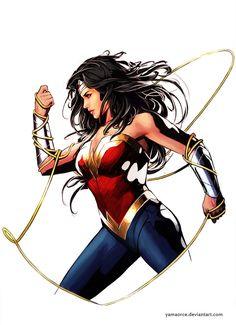 DC COMICS - Wonder Woman by Yama Orce