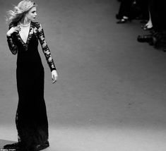 Cara Delevigne in Burberry at Cannes 2013