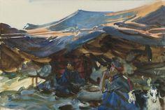 John Singer Sargent - Bedouin Women