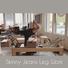 "554 Likes, 22 Comments - Tiffany Crosswhite Burke (@poiseandstrengthpilates) on Instagram: ""I call this ""Skinny Jeans"" because it works almost everything needed for those skinnys. I taught…"""
