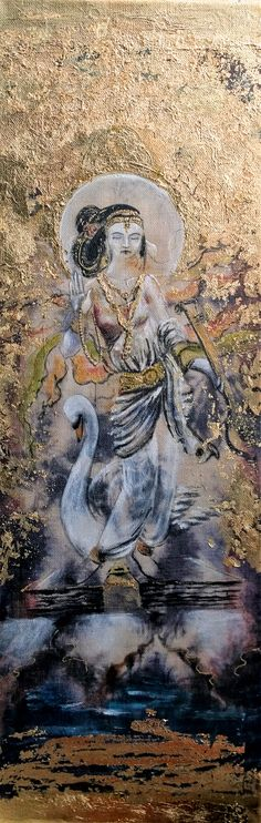 Saraswati (Impression d'Art) - Tilly Campbell-Allen ~ Dakini Comme l'Art