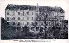1916-08-27 hopital de la croix rouge à Poitiers