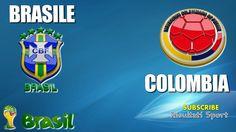 BRASILE - COLOMBIA - Mondiali 2014 - 4-7-2014 - Diretta live in streaming