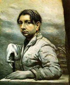 Giorgio de Chirico, Autoritratto, 1925