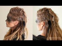 Viking Hairstyles for Women and Men – Inspirations and Tutorials – Ne … - Best New Hair Styles Viking Hairstyles Female, Historical Hairstyles, Fancy Braids, Braids For Short Hair, Missy Sue Hair, Warrior Braid, Lagertha Hair, Vikings Lagertha, Viking Braids