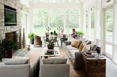 bright and light sunroom (a West Cook home in Nashville)