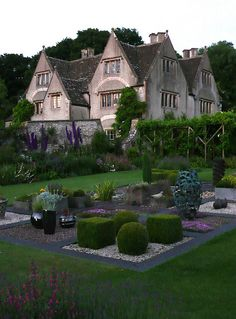 Camers gardens in Old Sodbury, South Gloucestershire, England