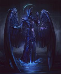 Dryphon, the Lich Angel Fantasy Demon, Fantasy Monster, Monster Art, High Fantasy, Dark Fantasy Art, Fantasy Artwork, Dark Art, Ange Demon, Demon Art