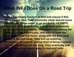 What INFJ Does On a Road Trip