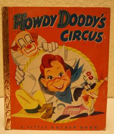 1950 Little Golden BookHowdy Doody's Circus by mandtsimplyvintage, $8.50