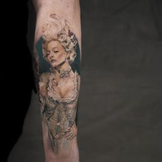 Marquise tattoo by Niki Norberg