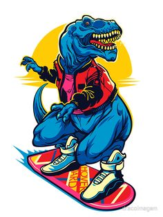 'Rex to the Future' by dracoimagem Silver T Shirts, Nordic Tattoo, Dope Wallpapers, Dinosaur Art, Tyrannosaurus Rex, Draco, T Rex, Doodle Art, Cool T Shirts