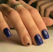 Try some of these designs and give your nails a quick makeover, gallery of unique nail art designs for any season. The best images and creative ideas for your nails. Oval Nails, Toe Nails, Stiletto Nails, Coffin Nails, Nail Art Designs, Nails Design, Short Nail Designs, Design Ongles Courts, Bride Nails