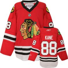 Patrick Kane Youth Jersey: Reebok Red #88 Chicago Blackhawks Youth Replica Jersey