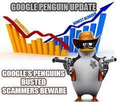 #Google #Penguin update- Google's reaction to #link #spammers.  Learn how spammers got affected and the authentic sites got benefited because of Google Penguin update.