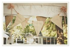 More Design Please - Best of Creative Bunting: tons of ideas on creating your own decor using bunting