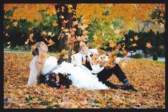 Wonderful fall wedding photography