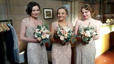 Art Deco inspired Styling for the beautiful Bridesmaids - Nalini's Wedding 2015 Bridesmaids, Bridesmaid Dresses, Wedding Dresses, Wedding 2015, Hair Makeup, Art Deco, Inspired, Beautiful, Style