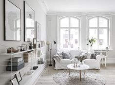 Starting A New Year With A Clean Slate: Minimalist Interior Inspiration Decoration Inspiration, Interior Inspiration, Blog Inspiration, Decor Ideas, Home Living Room, Living Spaces, Feminine Apartment, Interior Minimalista, Scandinavian Home