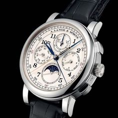 """""""A. Lange & Söhne introduced the 1815 Rattrapante Perpetual Calendar in 2013 and it is considered one of the most impressive watches ever made by Lange. It…"""""""