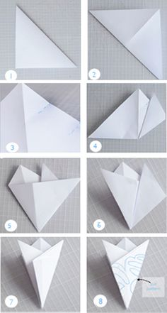willowday: 5-pointed Paper Snow Flakes