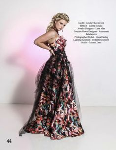 Published on Indie Soleil Magazine Floral Explosion June 2017 - Shoot done 04-21-17 Model - Lindsey Lockwood  HMUA - Lolitta Schultz   Jewelry Designer - Lana May Couture Gown - Antoaneta Balabanova  Photographer/Stylist - Dana Danley   Lighting Assistant - Robertt W Dickinson Studio - Lunatic Lens